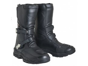 MBW TANER LIME kožené moto boty