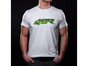 4SR CARBON-CAMO pánské tričko