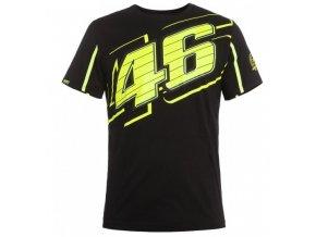 VALENTINO ROSSI VR46 pánské tričko černé