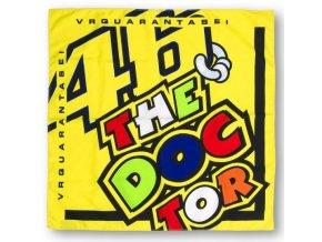 VR46 Valentino Rossi šátek bandana doctor
