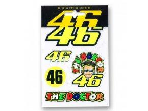 VR46 nálepky Valentino Rossi doctor