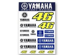 VR46 nálepky Valentino Rossi YAMAHA