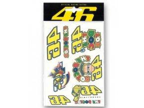 VR46 Valentino Rossi sada tetování