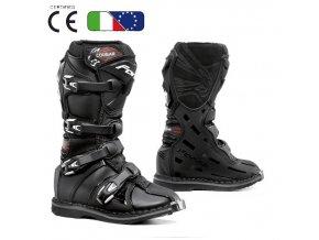 FORMA COUGAR Dětské moto boty černé