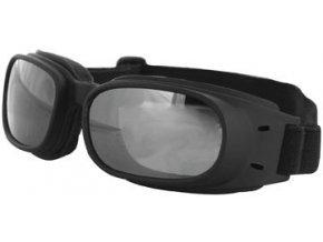 BOBSTER PISTON - motocyklové brýle, zrcadlové-kouřové sklo