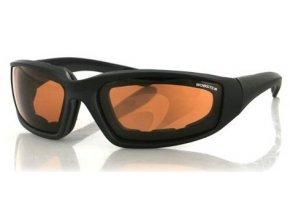 BOBSTER  FOAMERZ II - sluneční brýle, oranžové sklo