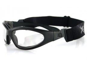 BOBSTER  GXR - motocyklové sluneční brýle, čiré sklo