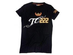 Tony Cairoli 222 - dámské triko černé