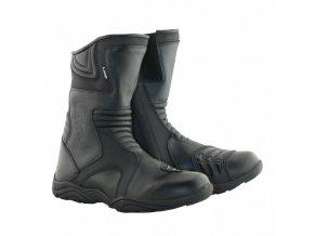 MBW TROY LIME kožené cestovní boty pro motorkáře