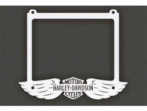 Ozdobný rámeček RZ/SPZ - Harley-Davidson