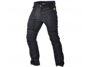 TRILOBITE 661 PARADO MEN TÜV CE LONG kevlarové jeansy prodloužené, černé