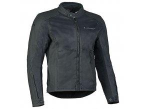MBW APOLLO moto bunda kůže + textil černá