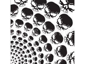 ZAN BANDANNA B126 - Skull Spiral