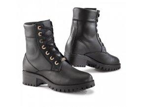 TCX LADY SMOKE WP moto boty dámské černé