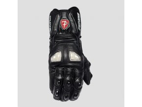 POLEDNIK VITESSE - kožené rukavice na motorku černé