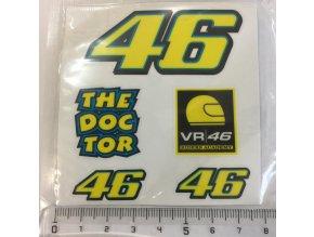 Nálepky Valentino Rossi VR46