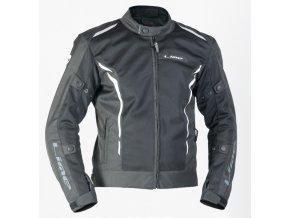 MBW SUMMER JACKET textilní moto bunda černá