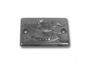 Highway Hawk Víčko nádobky brzdy / spojky LIVE TO RIDE pro motocykly YAMAHA XV750/1000/1100 Virago
