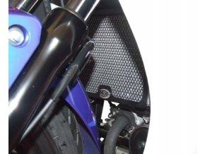 Ochranná mřížka chladiče RG Racing pro motocykly HONDA CBR125R ('11), černá