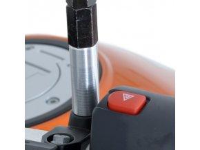Nástavce pro zvýšení zrcátek, Honda CB500F '13- / CB500X / CRF250L '13- / KTM 1190 Adventure / Kawasaki Z800