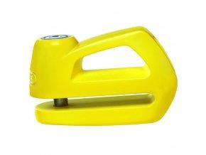 ABUS zámek na kotoučovou brzdu Element 285, žlutý