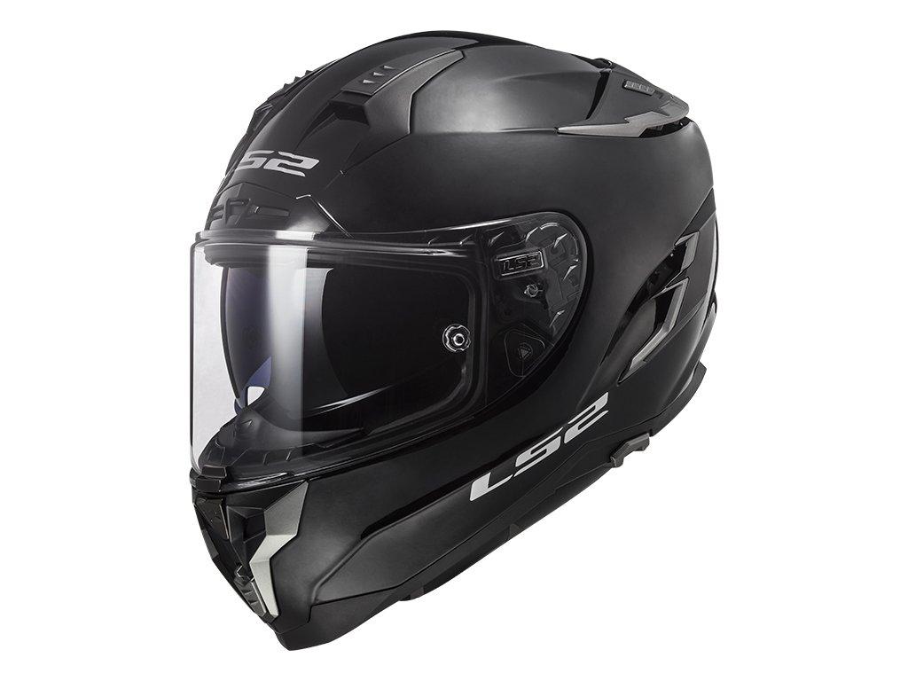 LS2 FF327 Challenger Solid Black