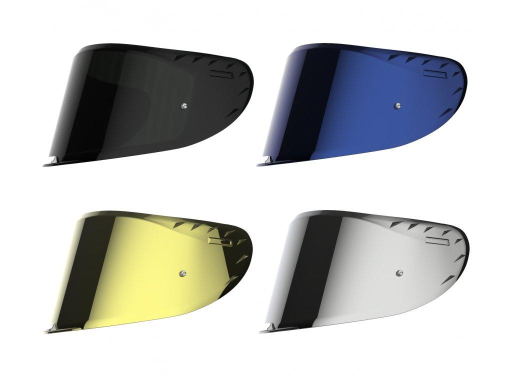 Náhradní plexi pro přilbu LS2 Challenger