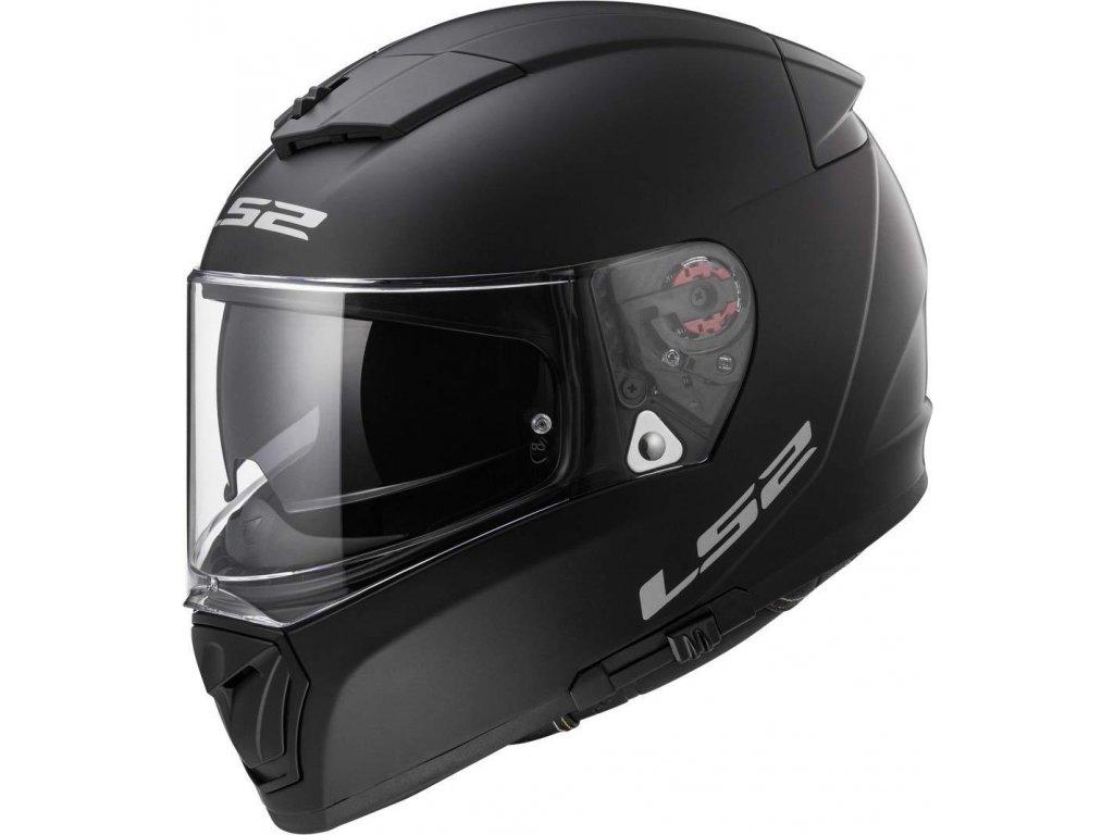 LS2 FF390 Black matt 1