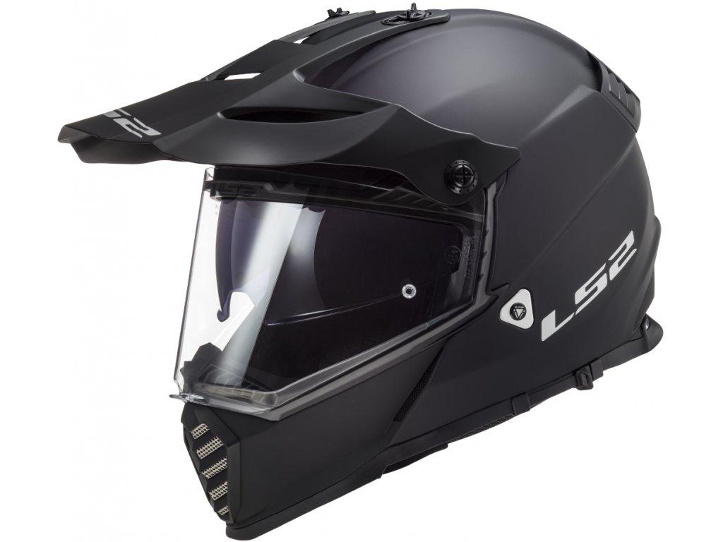 LS2 Pioneer MX436 EVO černá 1