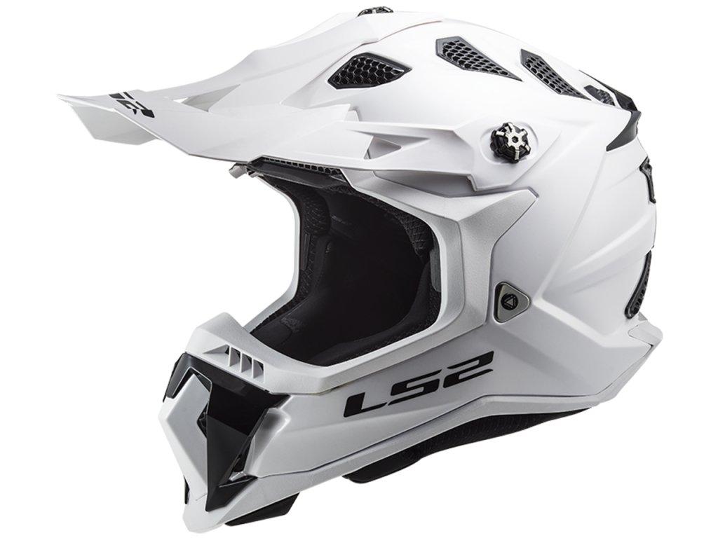 LS2 MX700 Subverter EVO Solid White 1