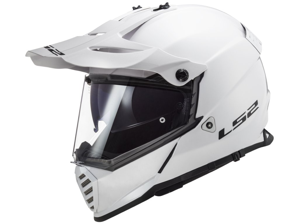 LS2 Pioneer MX436 EVO White 1