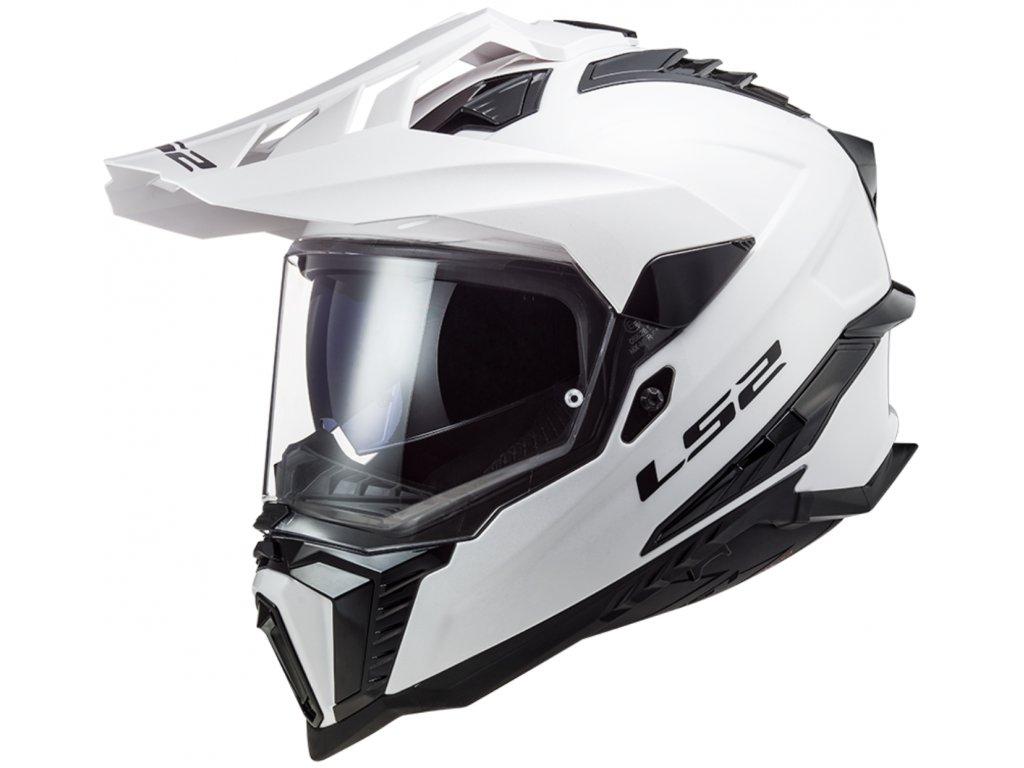 LS2 MX701 Explorer Solid White 1