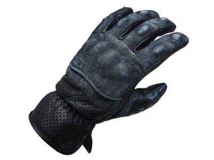Motocyklové rukavice Denim gloves 1