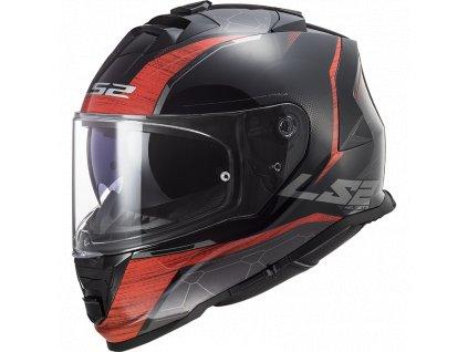LS2 FF800 Storm Classy Red Black 1