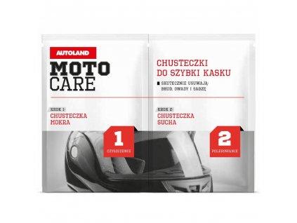 Utěrky na přilbu Moto Care
