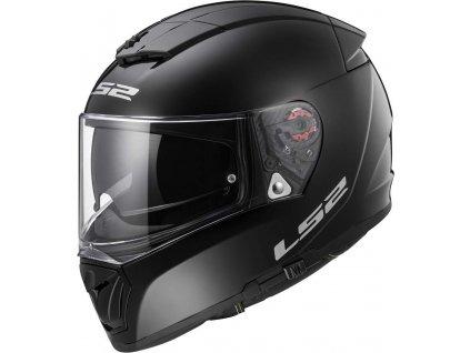 LS2 FF390 Black gloss 1