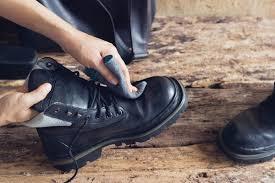 Údržba motocyklových bot