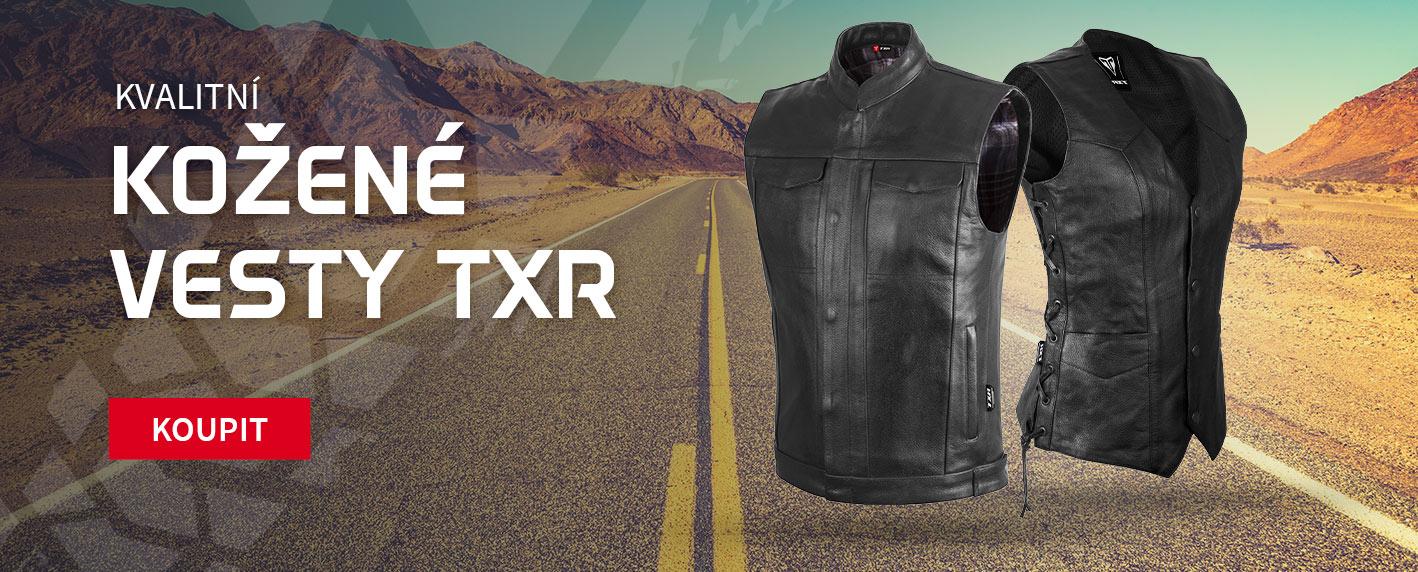 Kvalitní kožené vesty TXR
