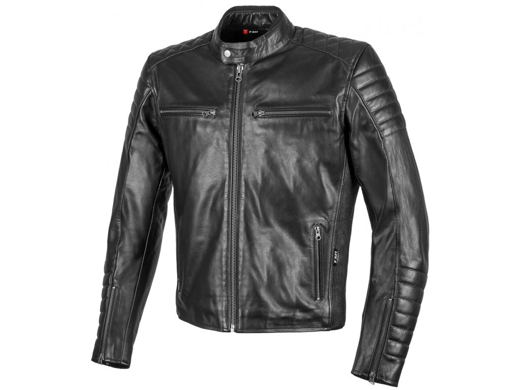 Kožená bunda na motorku LEGEND MAIN