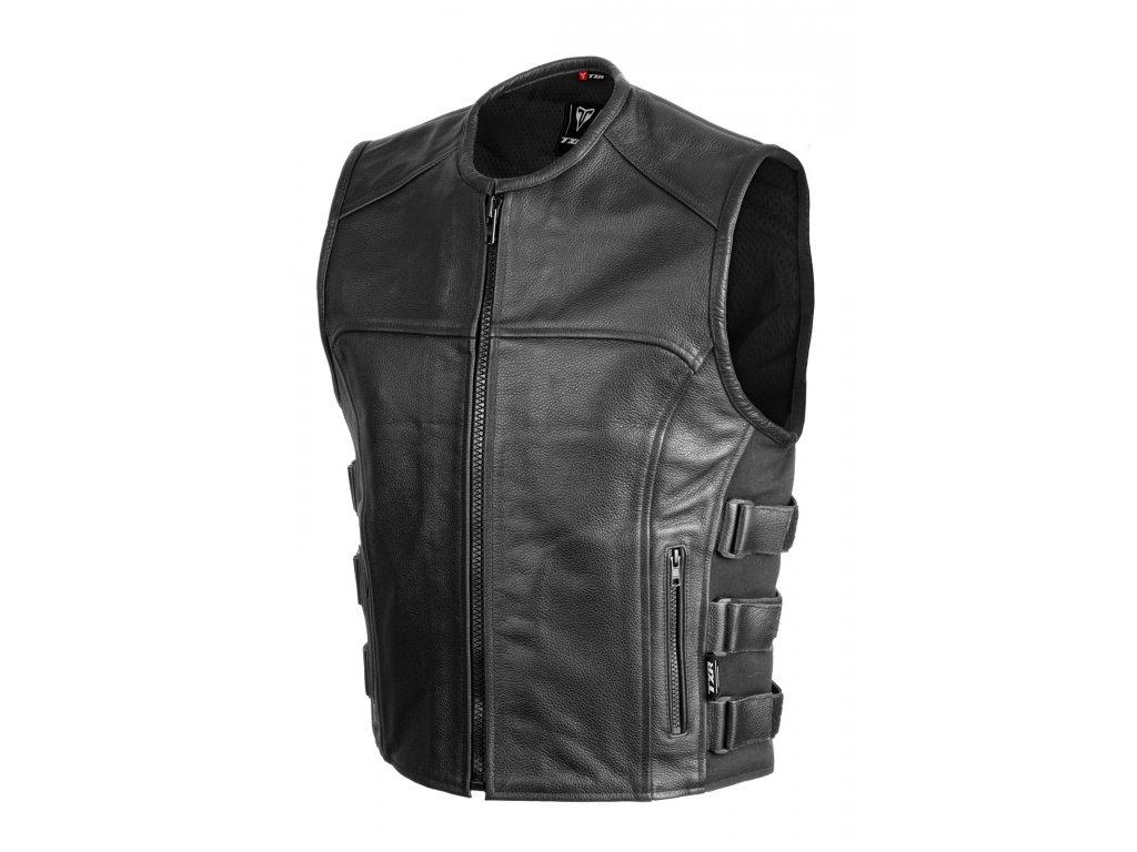 Kožená moto vesta SHOOTER MAIN
