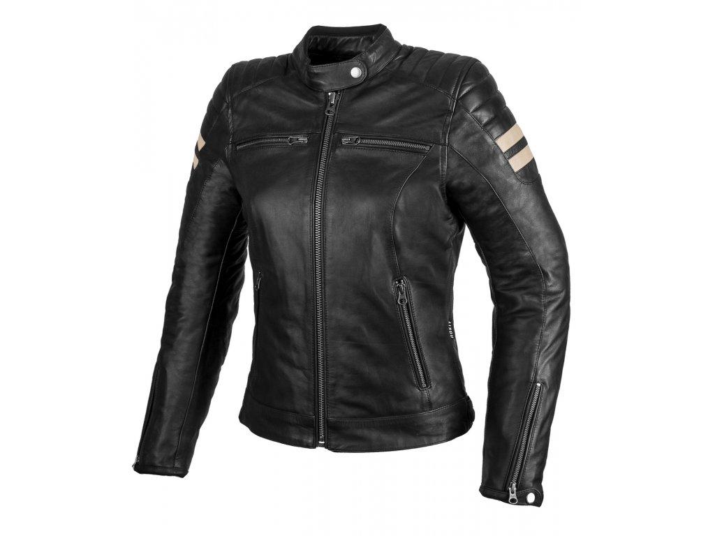 Kožená bunda na motorku CARMEN MAIN