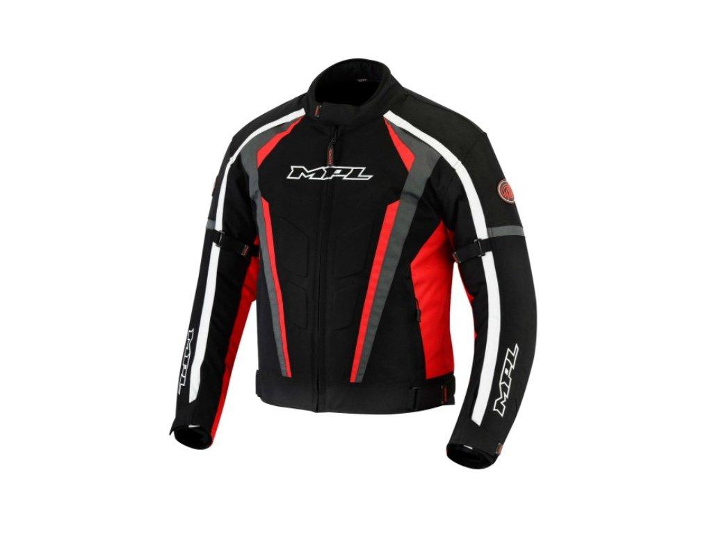 Moto bunda MPL Roky černo/červená