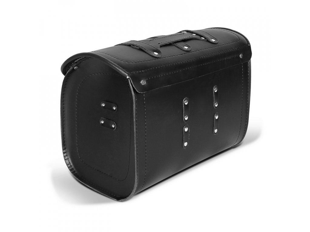 kožený moto kufr TXR TK8A side