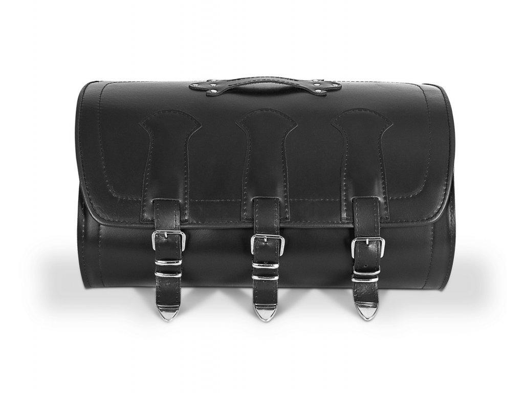 kožený moto kufr TXR TK9A bok