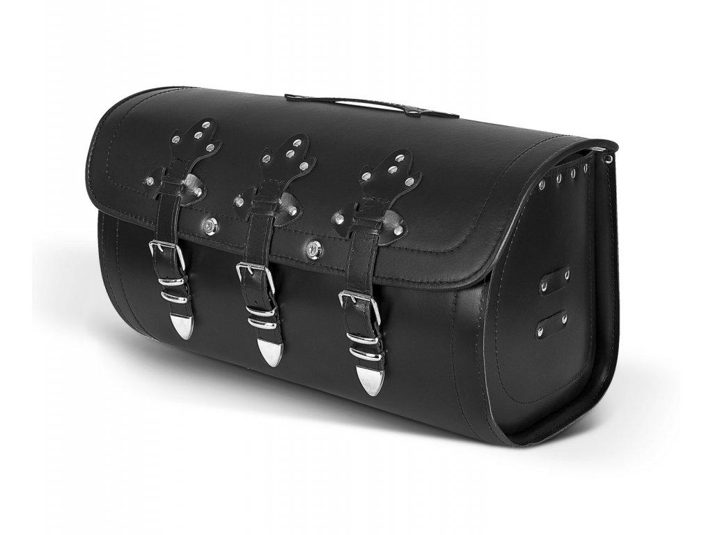 Kožený moto kufr TXR TK10A se zámky