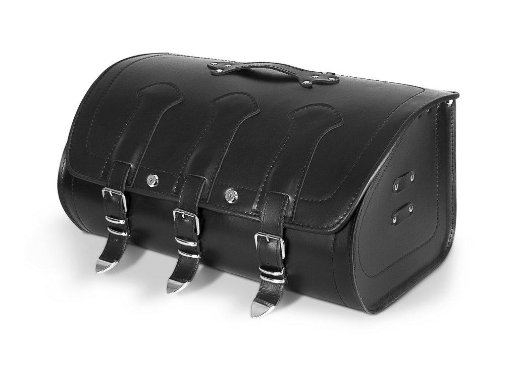 Kožený moto kufr TXR TK9A se zámky