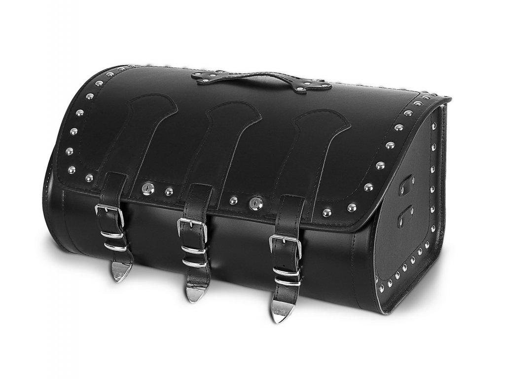 Kožený moto kufr TXR TK9D se zámky