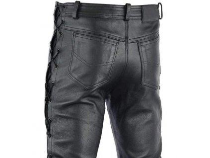 Moto kalhoty TXR Kansas se šněrováním černé