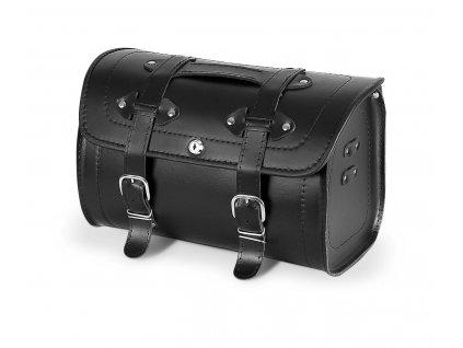 Kožený moto kufr TXR TK4A se zámkem