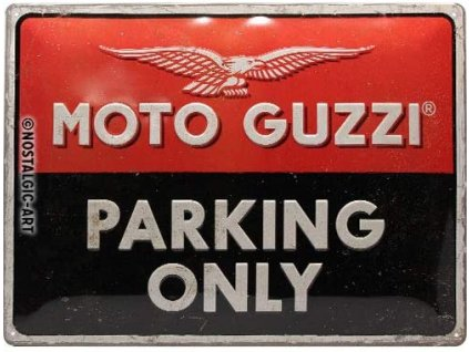 Moto Guzzi Parking Only